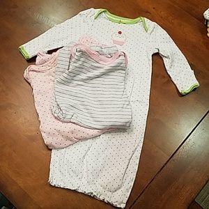 Baby girl sleep gown sacks